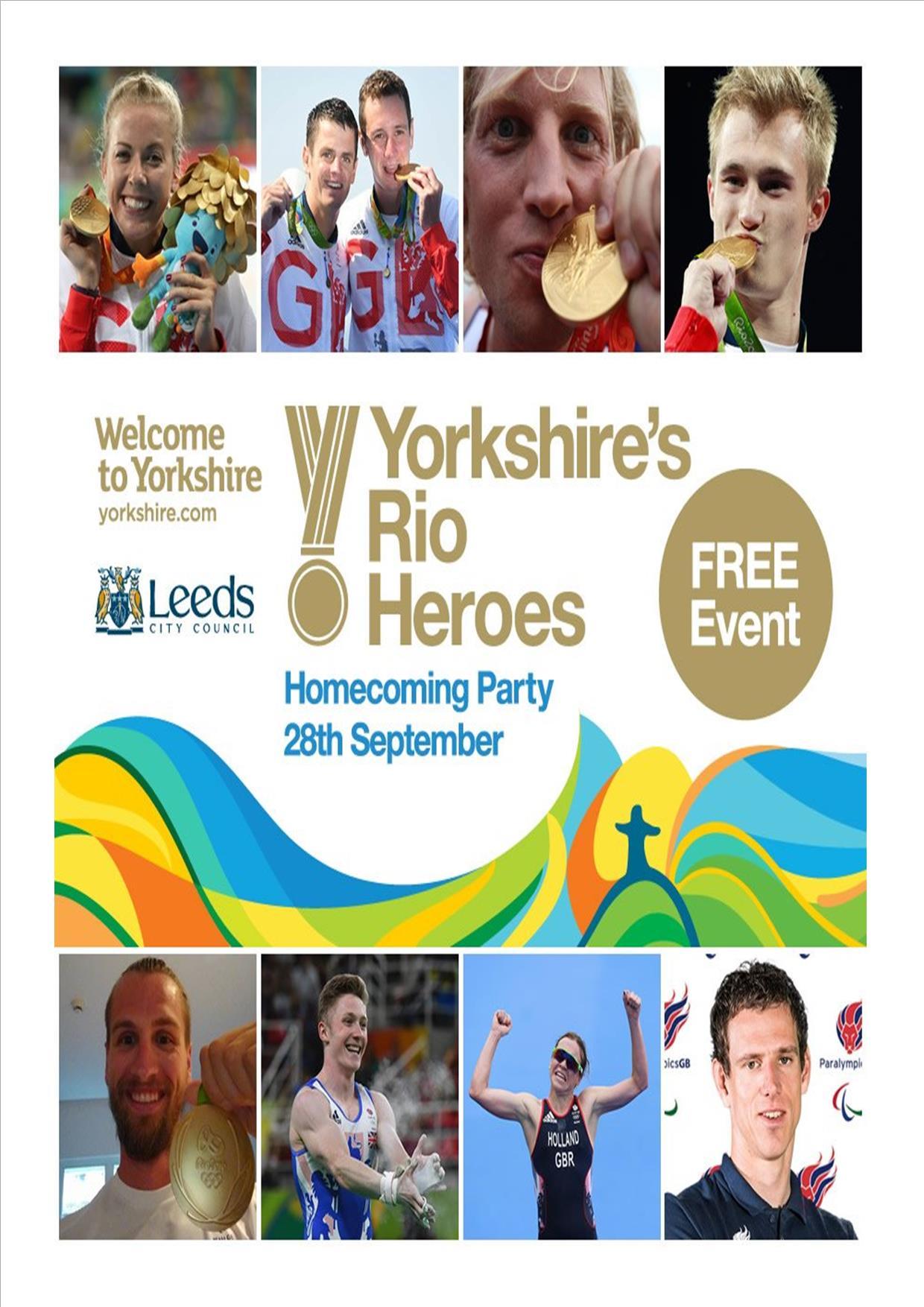 Yorkshire Rio Heroes